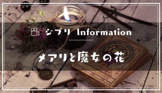 映画「メアリと魔女の花」フル動画配信サービスの無料視聴方法!Dailymotion/Pandora以外で見る