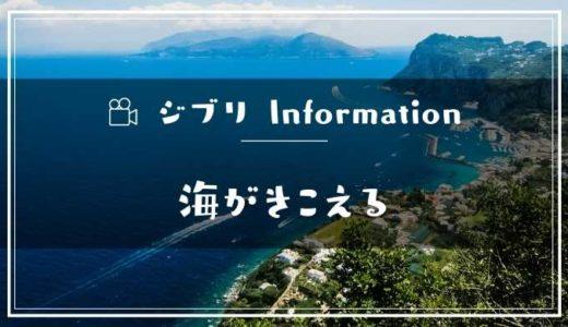 映画「海がきこえる」フル動画配信サービスの無料視聴方法!Dailymotion/Pandora以外で見る